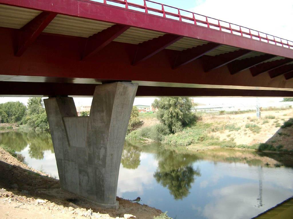 Puente sobre el río Duero - José Antonio Llombart