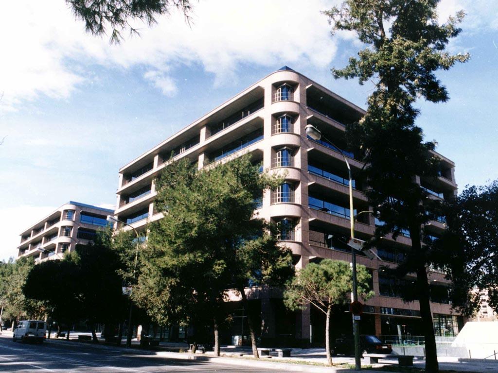 Estructura para Edificio Mapfre - Vía Augusta - José Antonio Llombart