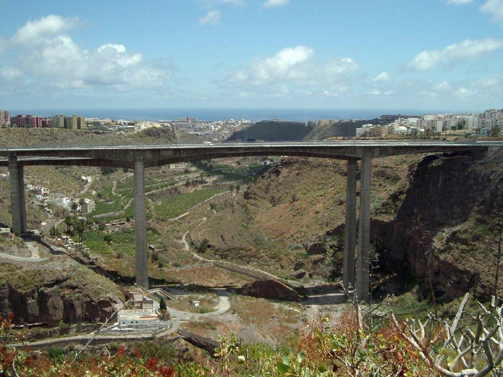 Viaducto de Guiniguada (Gran Canaria) - José Antonio Llombart