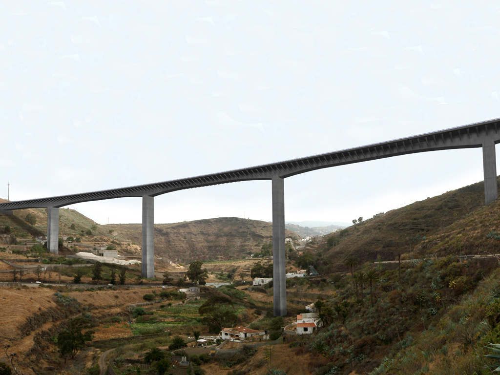 Viaducto de Tenoya - José Antonio Llombart