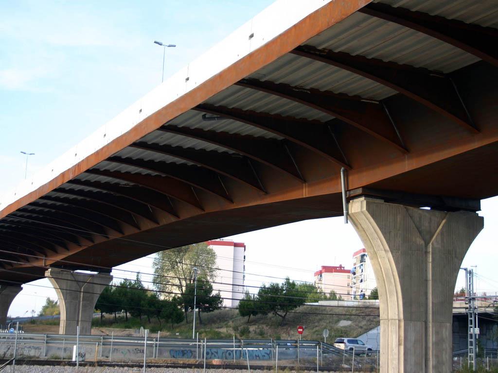 Viaductos en Fuenlabrada (Madrid) (Enlaces M-413 y M-405) - José Antonio Llombart