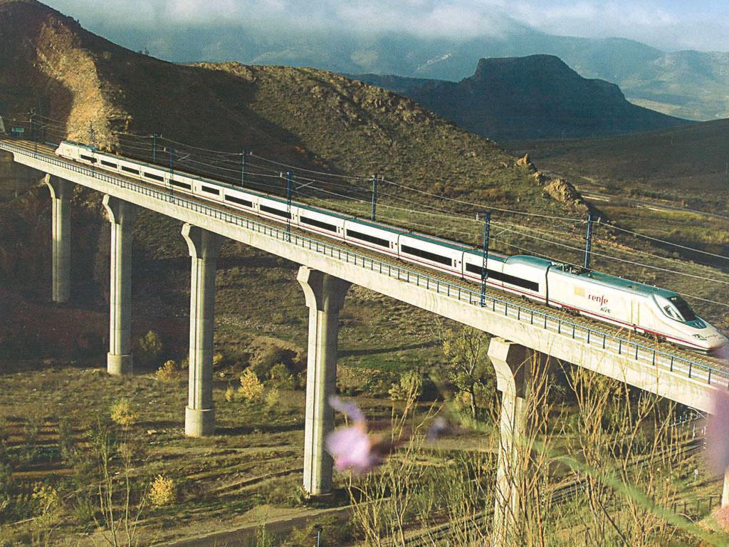 Viaductos Calatayud - Ricla (Línea de Alta Velocidad Madrid - Barcelona) - José Antonio Llombart