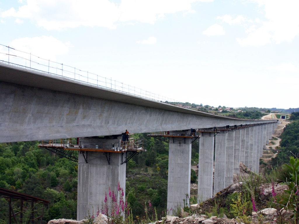 Viaducto Barbantiño (Línea de Alta Velocidad, Corredor Norte-Noroeste, Tramo Ourense - Lalín) - José Antonio Llombart