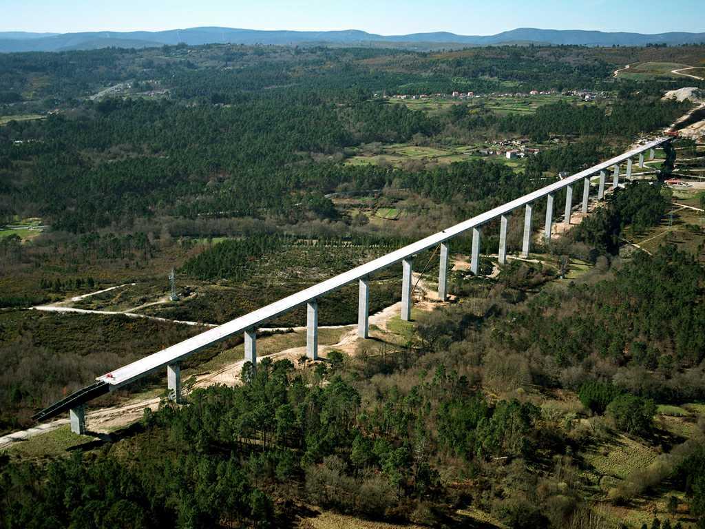 Viaducto de Arenteiro (Línea de Alta Velocidad, Corredor Norte-Noroeste, Tramo Ourense - Lalín) - José Antonio Llombart