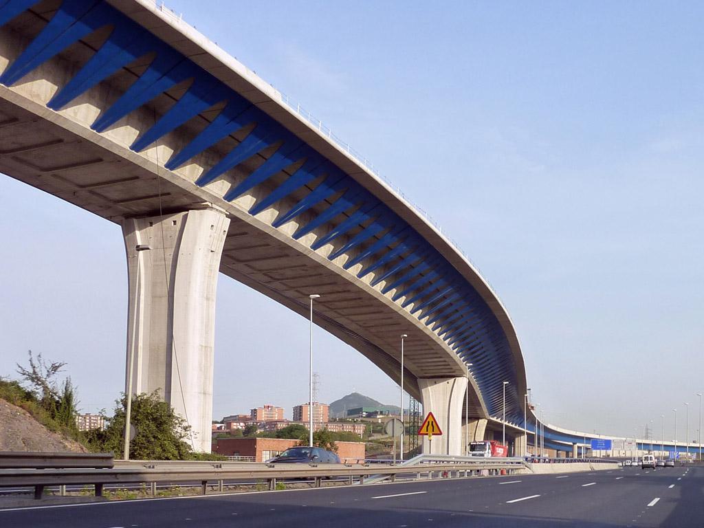 Viaducto de Trapagaran (Bilbao)